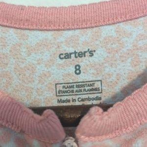 Carter's Pajamas - 2 Carter's fleece footed sleeper pajamas